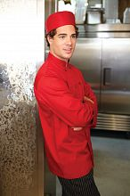 Nantes Red Chef Coat [REPC]