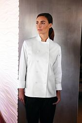 Женский поварской китель Chef Works LWLJ BLK, WHT