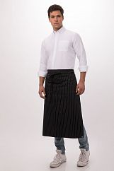 Фартук Chef Works F24 BWP White Pinstripe