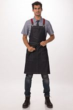 Berkeley Bib Apron Indigo Denim [ABS01IBL]
