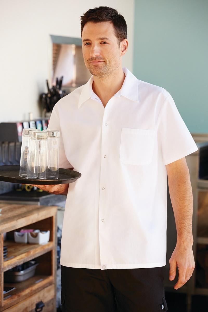 SHYK Chef Works Mens Utility Shirt