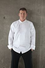 Trieste Premium Cotton Chef Coat [ECRO]
