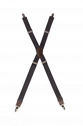 Berkeley Solid Apron Suspenders Solid Color [XNS03]