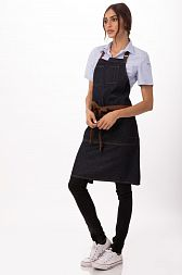 Фартук Chef Works AB035 BLK, IBL