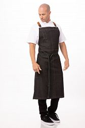 Фартук Chef Works ACS01BLK BLK