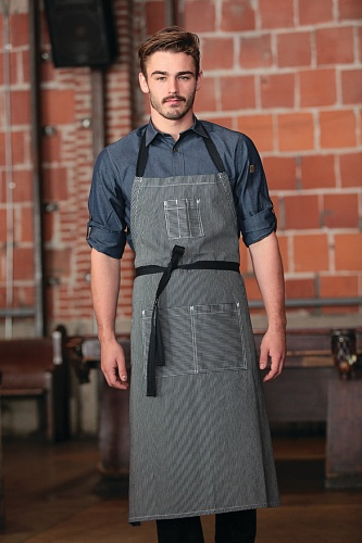 Фартук Chef Works AB038 BLK, IBL